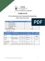 VIT 2014 curriculum