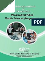 Paramedical Prospectus 2011
