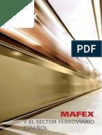 2014 Mafex y El Sector Ferroviario Espanol