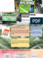 Pricing ppt. Principles of Marketing