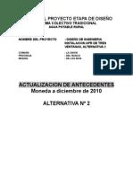Actualizacion Antecedentes - Tres Ventanas - Alternativa 2