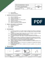 PETS-SGK-PC-023 Plateo de Concentrado y Relave