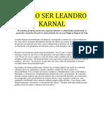 Entrevista Leandro Karnal