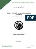 Livre Noir de la Fraternité Saint-Pie X (FSSPX) 2019