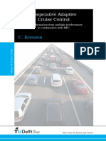 Kreuzen C. - Cooperative Adaptive Cruise Control