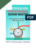 Certificación Professional Scrum Master (PSM I) Modelo B de Test de Prácticas