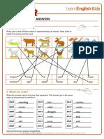 Worksheets Chinese Zodiac Answers