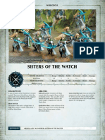 Aos Warscroll Sisters of the Watch En