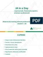Material Training_JA in a Day