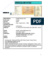 Deddi's CV.ppt