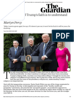 To Know Donald Trump's Faith is to Understand His Politics _ Martyn Percy _ Opinion _ the Guardian