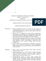 Peraturan Pemerintah Republik Indonesia Nomor 11 Tahun 2010 Tentang Penertiban Dan Pendayagunaan Tanah Terlantar