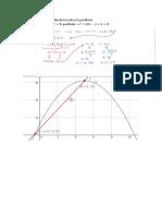 Encuentre la intersección de la recta y la parábola.