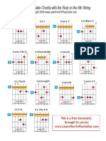 Advanced guitar chord