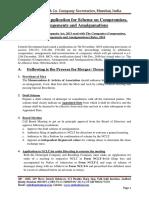 Checklist for Application for Scheme on Compromise Arrangement and Amalgamation