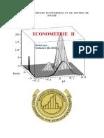 Econométrie II