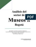 Analisis Del Sector Extrategico de Museos en Bogota Modelo de Gestion