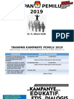 KPU_Kampanye Pemilu 2019