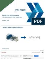 Predictive Maintenance MATLAB