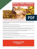 Aromaterapia para uso veterinário
