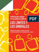 Participación popular y políticas públicas. Los límites y los umbrales