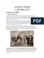 Moda Masculina Dsde Princips Del Siglo XX
