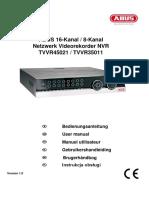TVVR35011_TVVR45021 ABUS NVR manual
