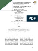 Mi224 Electrodepositacion de Plomo a Partir de Una Solucion de Nitratos