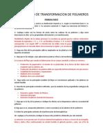 Cuestionario de Transformacion de Polimeros 1 Dep