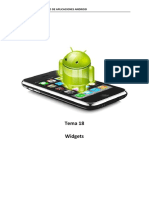 Tema 18. Widgets