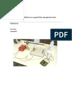 Relatório - A.L. 2-1 Campo Elétrico e Superficies Equipotenciais