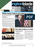 washingtonblade.com - vol. 41, issue 43 - october 22, 2010