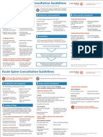 Provincial Acute Neurosurgical and Spine Consultation Guidelines