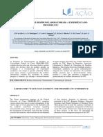 GERENCIAMENTO DE RESÍDUOS LABORATORIAIS - A EXPERIÊNCIA DO PROGERE_UFC.pdf