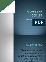 Sintesis de Sociales