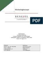 Bachelor Thesis BENEVOL Graubuenden Marketingkonzept