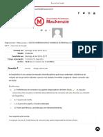 Gestão Internacional e Comércio Exterior - Trilha 1 Mackenzie EAD