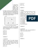 Simulado II 2018 - Ruth Rosita -Matematica- Rubens Rocha - Noturno