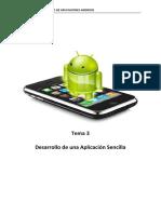 Tema 3. Desarrollo de Una Aplicacion Sencilla