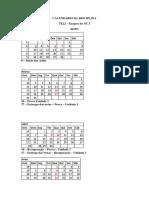Calendário de TE22 - Exegese Do NT 2 - 2019.1