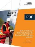 Global Safety, Health and Enviroment Managment System Manual Rev 4 Español