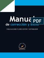 Manual de corrección Flores Editores