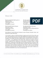 Letter Gov Rossello to Congressional February 5, 2019