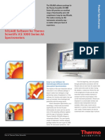 SOLAAR Software for Thermo Scientific ICE 3000 Series Atomic Absorption Spectrometers