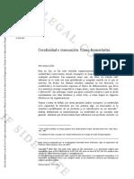Creatividad e innovación (Master en Gestión de la Innovación Empresarial - nov.2013)