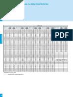 DIN 2215 V Belt Specification