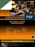 Business Plan of Budaya Kopi