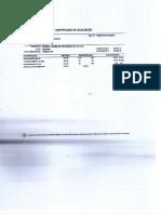 Certificado de Calidad Chemlok 205