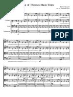 Game of Thrones (Main Titles) - Cuarteto de cuerdas.pdf