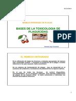 Bases de La Toxicologia